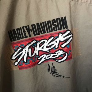 Harley Davidson Sturgis 2003 Staff Size Medium